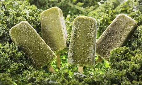 Green Wave Smoothie Pops