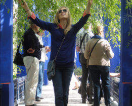 Юлия Корнева во время путешествия
