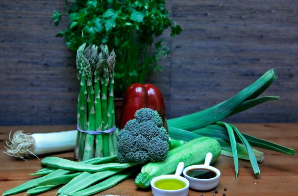 Овощи в азиатском стиле
