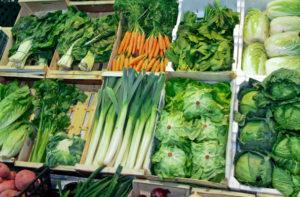 Овощи с клетчаткой