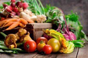 Здоровые овощи