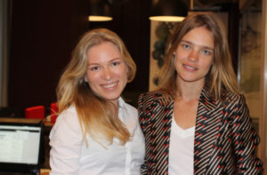 Юлия Корнева и Наталья Водянова