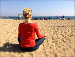 Медитация на пляже