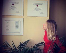 Фотографии дипломов