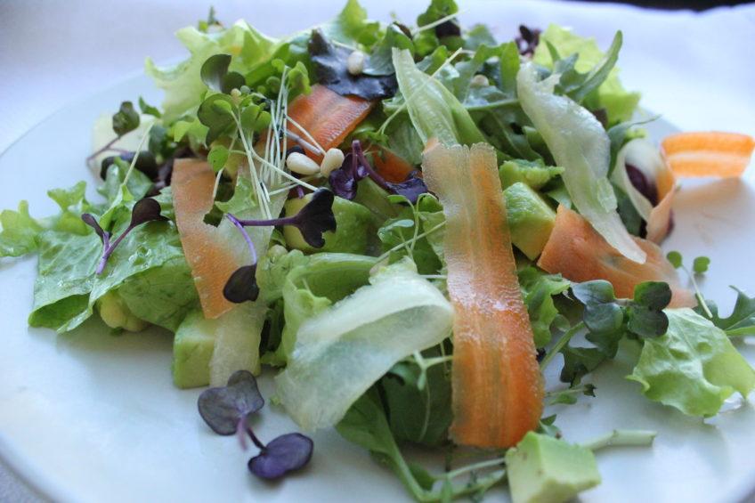 Летний овощной салат