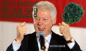 Билл Клинтон вегетарианец