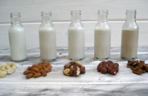 молоко из орехов