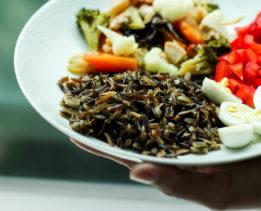 ГАРНИРЫ Черный рис